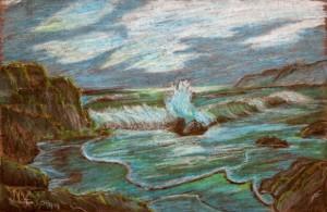 A rendition of carmel coast